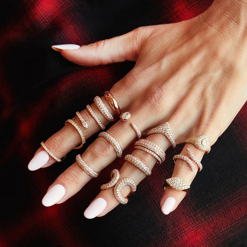 OLYMPIA MID FINGER RING