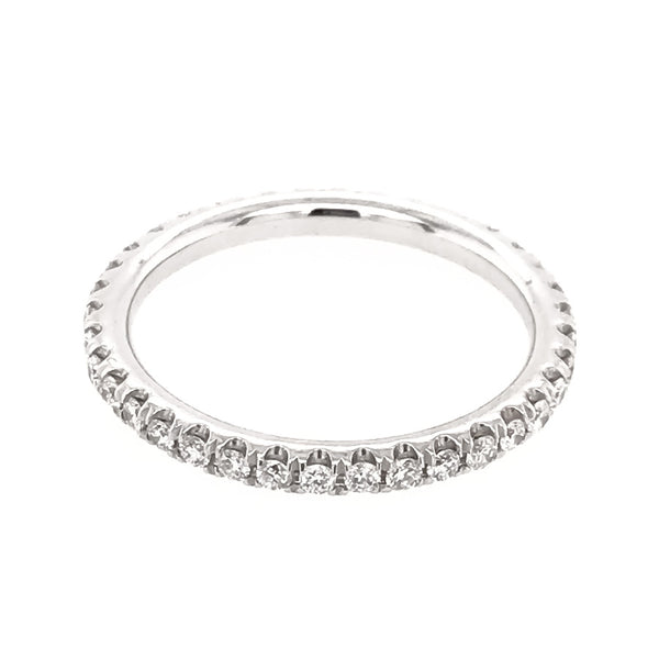 CLASSIC PAVE ETERNITY BAND