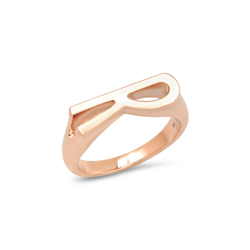 CHUNKY INITIAL RING