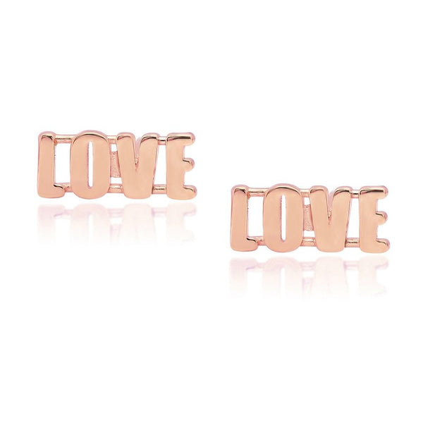 LOVE Stud Earrings