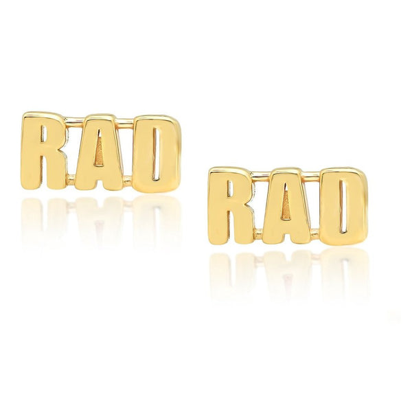RAD Stud Earrings