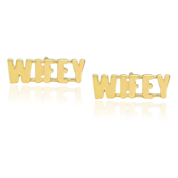 WIFEY Stud Earrings