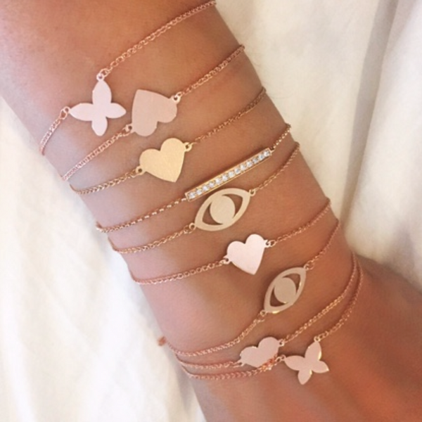 FLOATING BUTTERFLY BRACELET