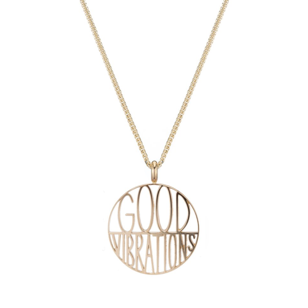 GOOD VIBRATIONS TOKEN PENDANT