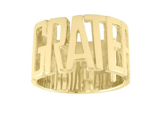 Grateful Mantra Ring