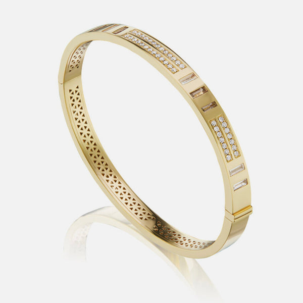 JUJU BANGLE DOT DASH - DIAMOND