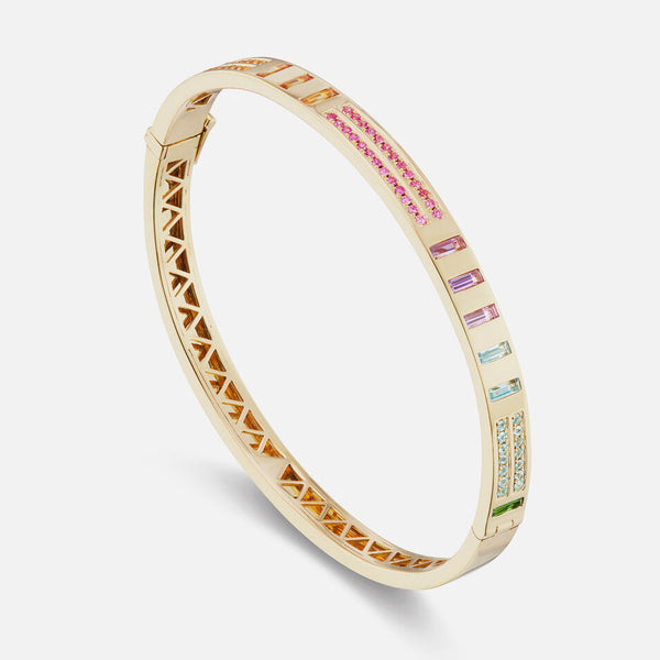 JUJU BANGLE DOT DASH - RAINBOW