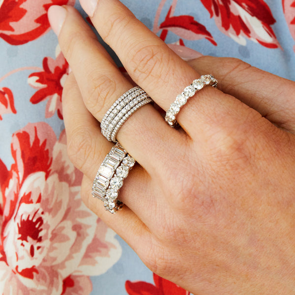 MINI PAVE ETERNITY BAND