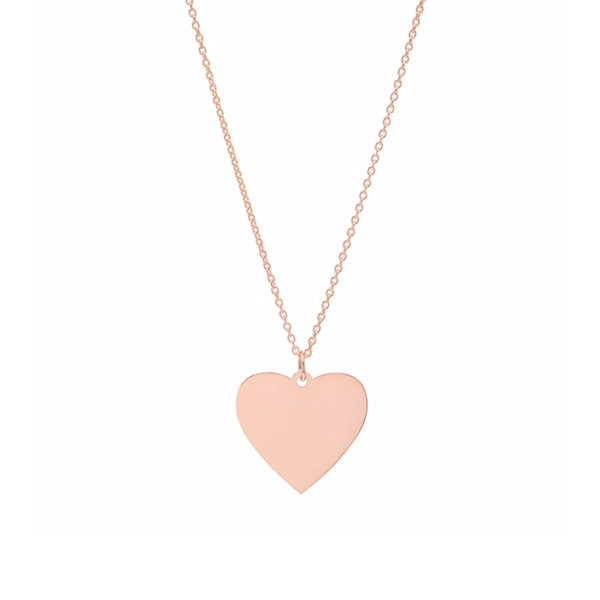 JUMBO HEART NECKLACE