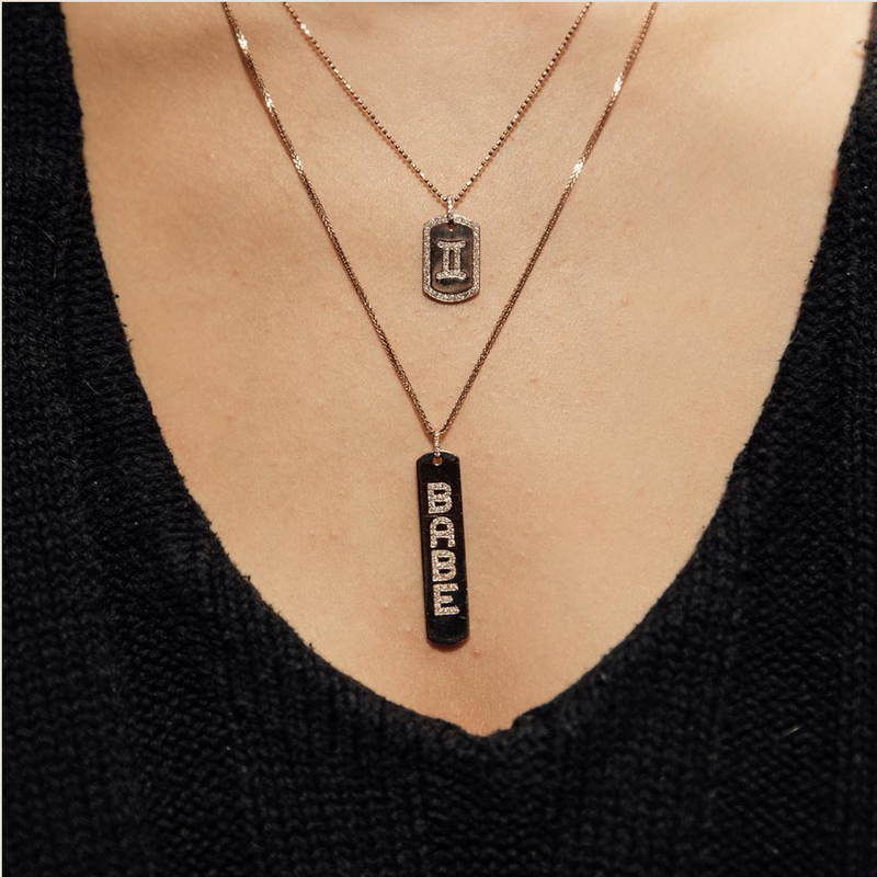 LONG TAG NECKLACE