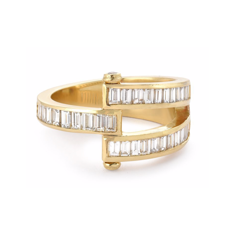 MAGNA RING - BAGUETTE DIAMONDS
