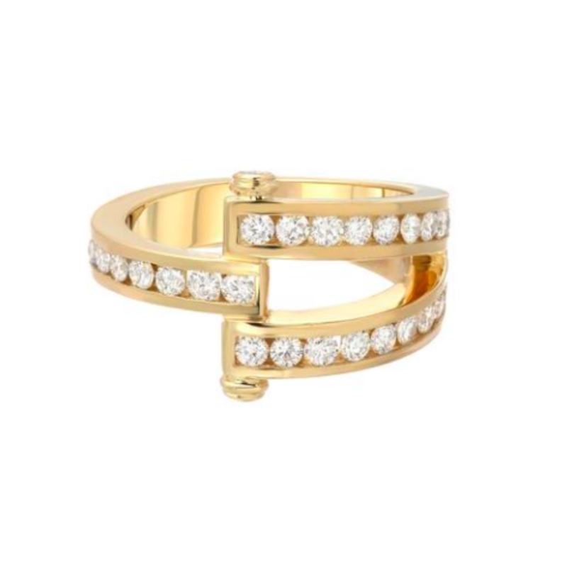 MAGNA RING - ROUND DIAMONDS