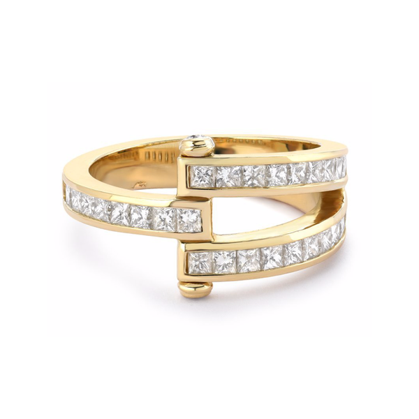 MAGNA RING - SQUARE CUT DIAMONDS