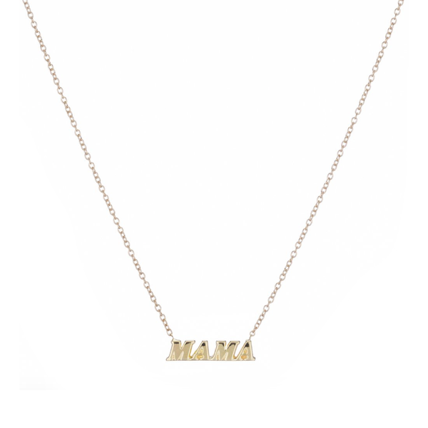 """MAMA"" NAME IT NECKLACE"