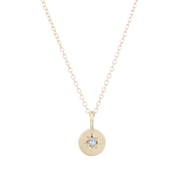 ASTRAL BIRTHSTONE CHARM NECKLACE
