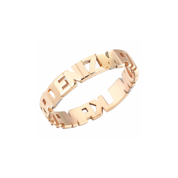 NAME/FAMILY RING