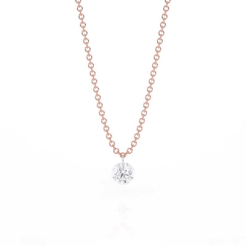 HADID 0.25 CT SOLITAIRE FRINGE NECKLACE