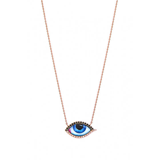 PETIT BLEU DIAMOND NECKLACE
