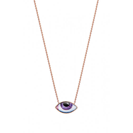 PETIT MAUVE NECKLACE