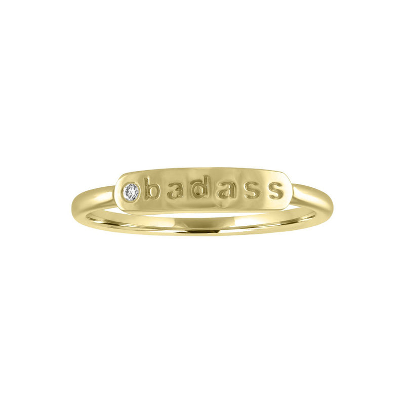 "The Twiggy ""BADASS"" Ring"