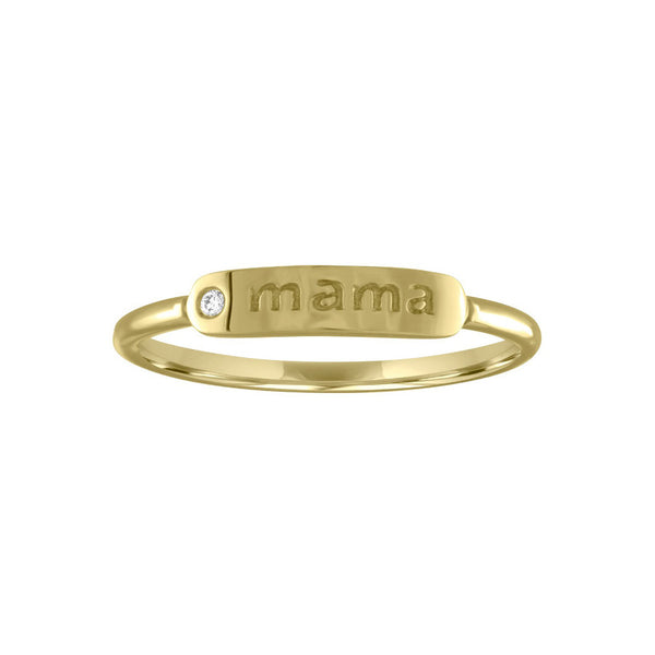 "The Twiggy ""MAMA"" Ring"
