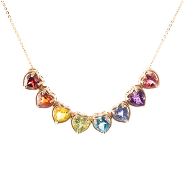 RAINBOW SLIDER NECKLACE