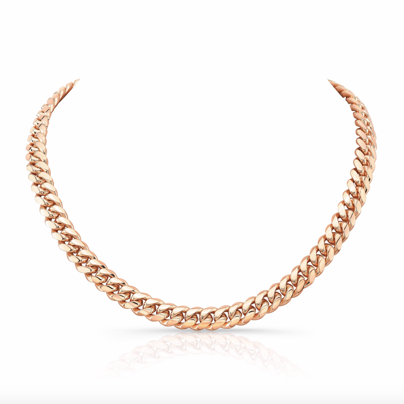 SOLID MIAMI CUBAN LINK NECKLACE