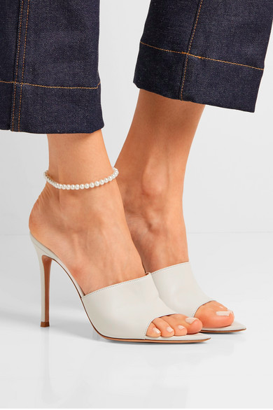 """NOT YOUR MOTHER'S PEARL"" ANKLET"