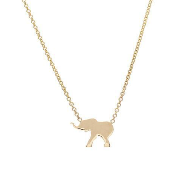 THE MENAGERIE NECKLACE - ELEPHANT