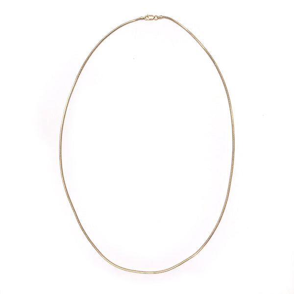 THE SNAKE CHAIN 20INCH NECKLACE