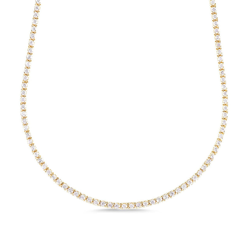 5.25ct TENNIS NECKLACE