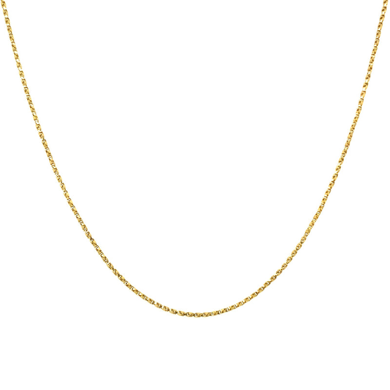 VINTAGE INSPIRED GOLD CHAIN 20""