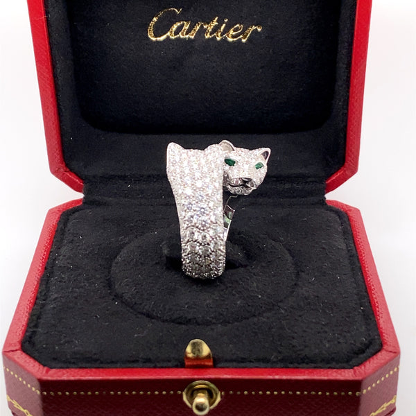 VINTAGE CARTIER DIAMOND RING