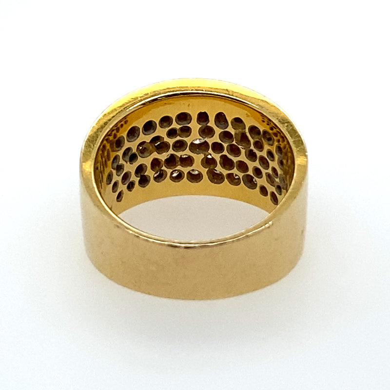 VINTAGE DIAMOND CIGAR BAND