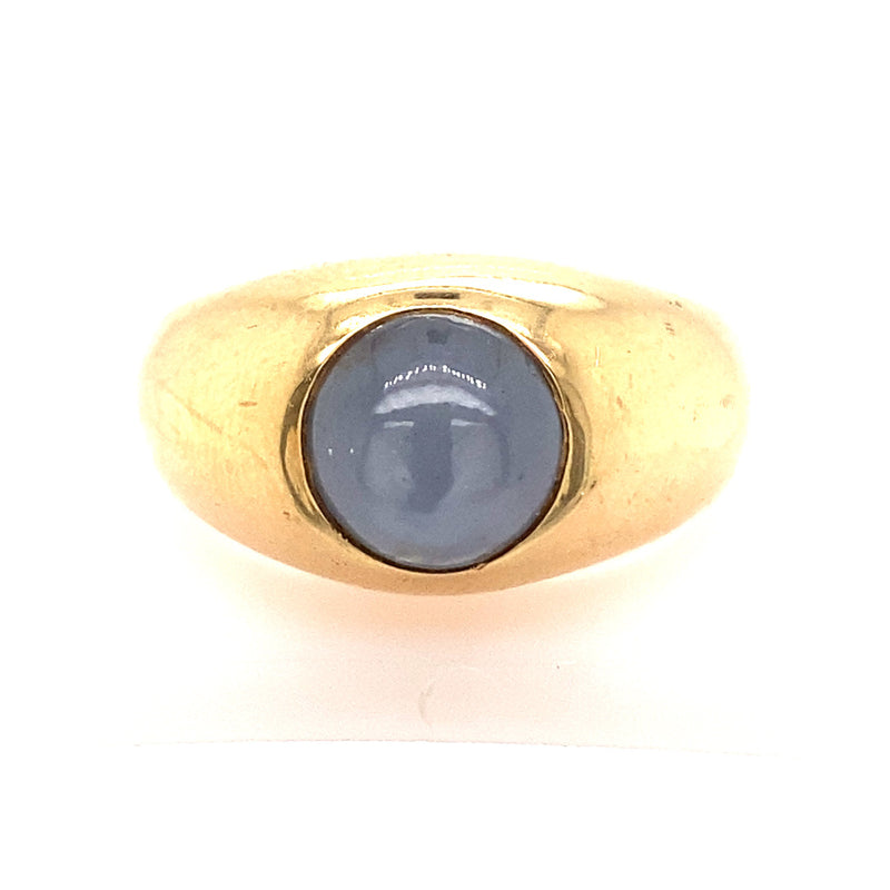 VINTAGE STAR SAPPHIRE RING