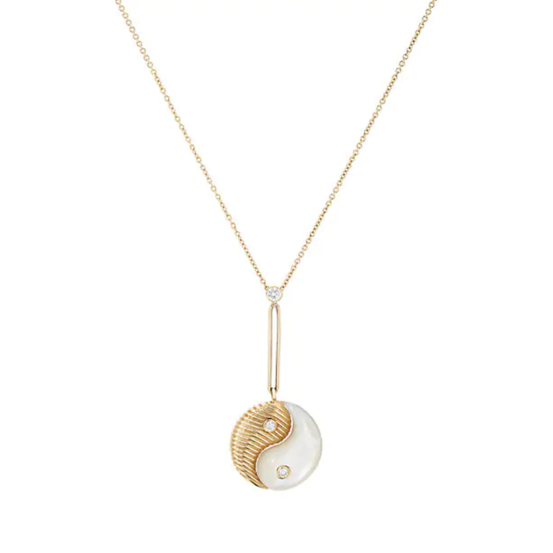 YIN YANG PENDANT - MOTHER OF PEARL
