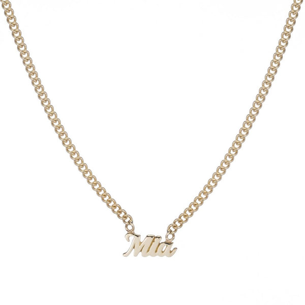 Script Carmella Name It Necklace