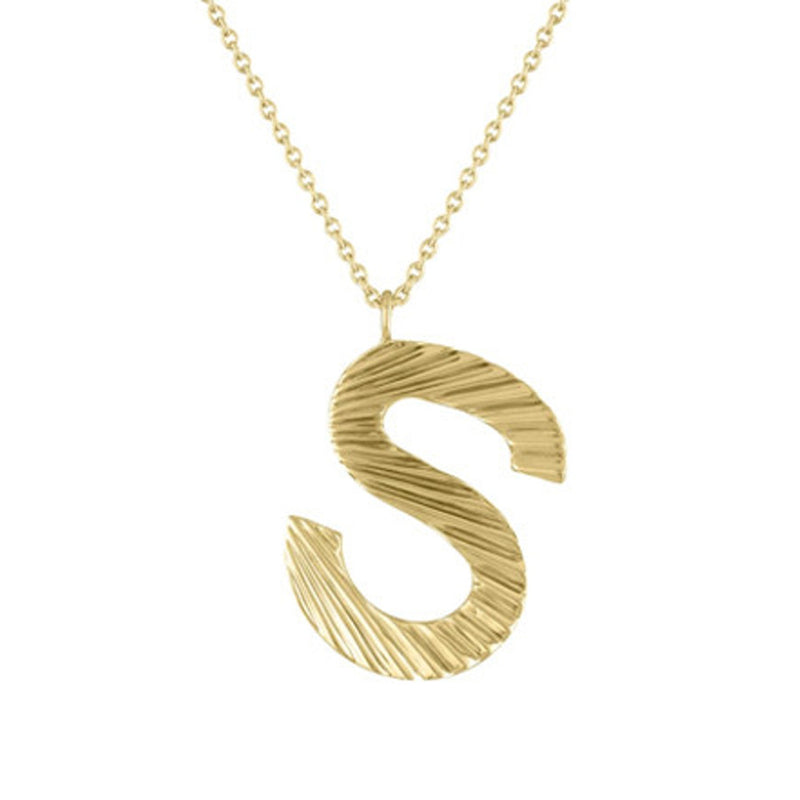 The Celeste Small Initial Pendant
