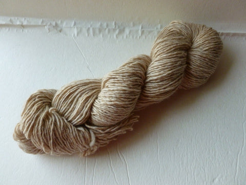 Oatmeal Lamb's Pride Worsted  - Seconds -by Brown Sheep Company, Ready to Dye - Felted for Ewe