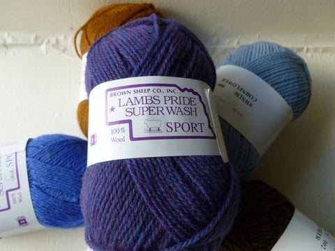 Lamb's Pride Superwash Sport - Not Seconds - by Brown Sheep Company - Felted for Ewe