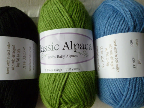 15% off Retail Classic Alpaca by The Alpaca Yarn Company, 100 Percent Baby Alpaca, DK weight 50 gm - Felted for Ewe