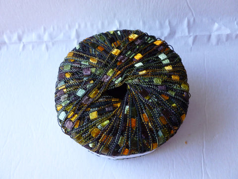 Gold Green 108 Dazzle by KFI - Felted for Ewe