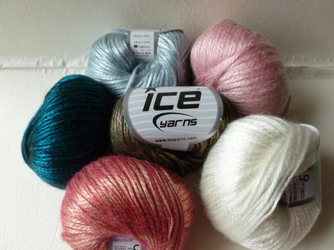 Rock Star by ICE Yarns, Nylon Wool Blend, Multiple Colors - Felted for Ewe