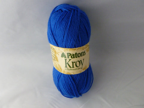 Bright Blue 4 Ply Kroy Socks by Patons - Felted for Ewe