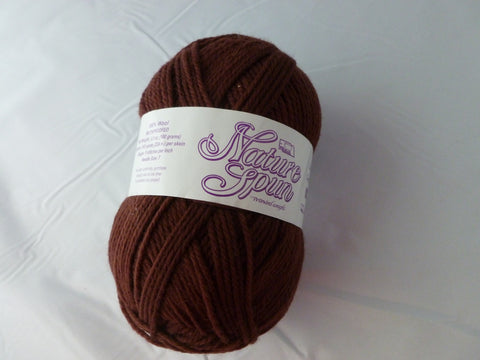 Roasted Coffee Nature Spun Worsted - Seconds - by Brown Sheep Company - Felted for Ewe