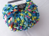 Cancun by Stacy Charles, Multiple Colors, Butterfly or Flag Ribbon Yarn - Felted for Ewe