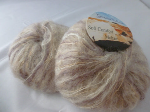 Fudge Ripple 615 Soft Comfort Mohair by Queensland - Felted for Ewe
