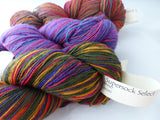 Supersock Select by Cherry Tree Hill, Sock Yarn, Self stripping, Washable Merino Wool - Felted for Ewe