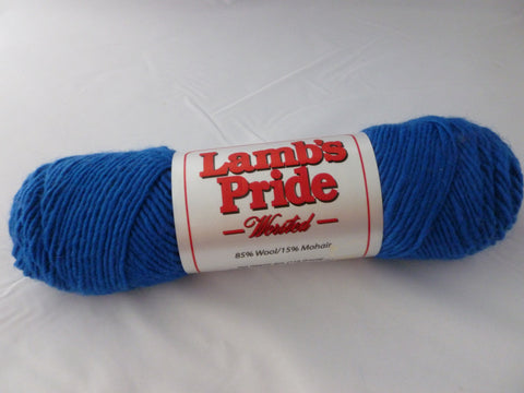 Blue Boy Lamb's Pride Worsted - Not Seconds - by Brown Sheep Company - Felted for Ewe