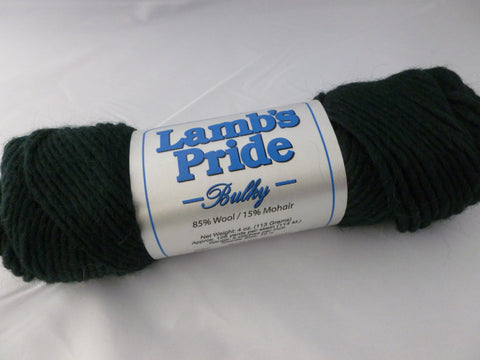 Midnight Green Lamb's Pride Bulky - Seconds - by Brown Sheep Company - Felted for Ewe